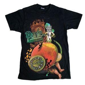 Panic At The Disco Band Graphic Tee Shirt